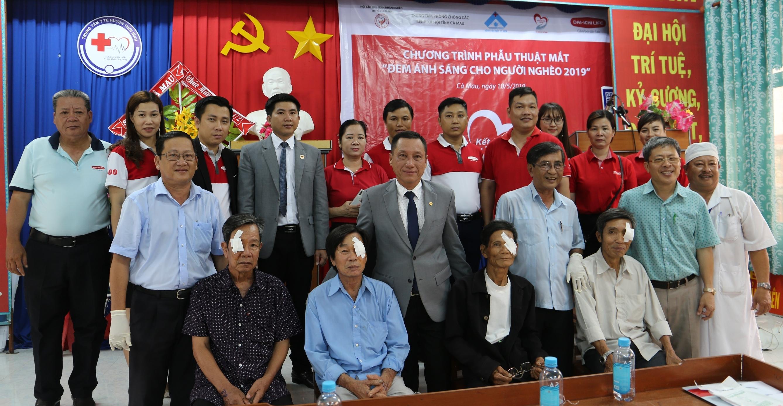Công ty BHNT Dai-ichi Việt Nam tài trợ chương trình phẫu thuật