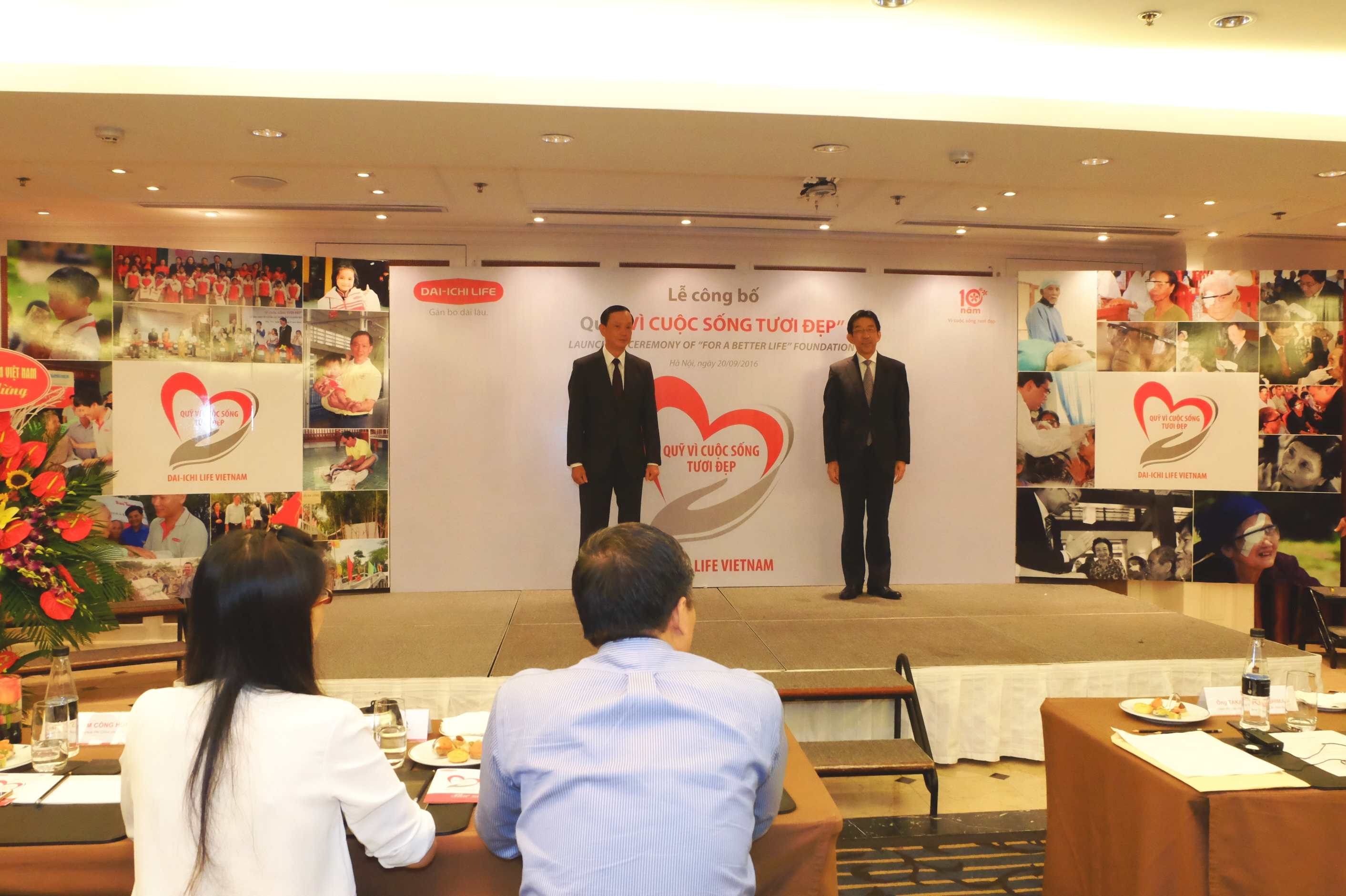 "Dai-ichi Life Vietnam launches ""For A Better Life"" CSR Foundation..."